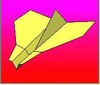 Sea Gull paper airplane plane folding instructions