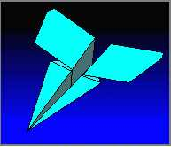 marlin paper airplane plane folding instructions